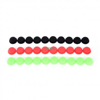 10Pcs Silicone Tailcaps for Flash