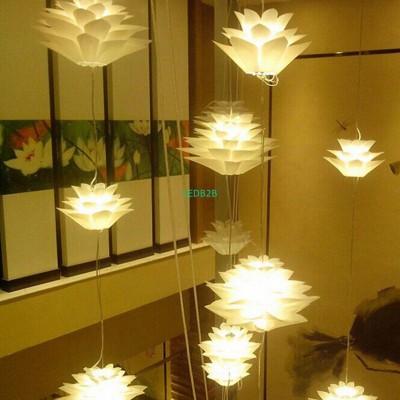 NFLC-Lotus Shape DIY Ceiling Lamp