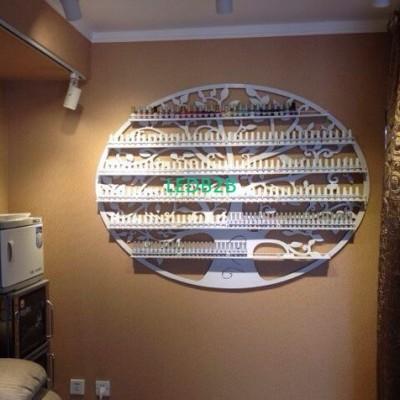 Perfume nail polish display rack