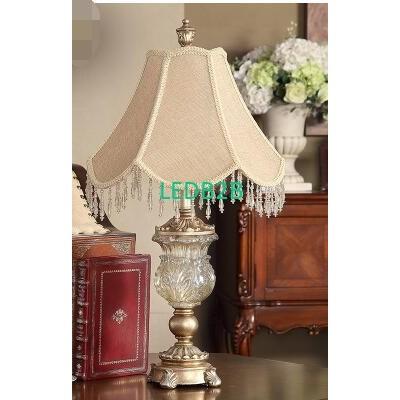 Crystal glass bedside lamp. Palac