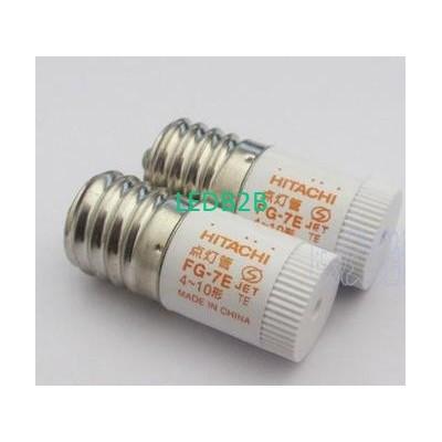 HITACHI FG-7E 4-10W bulb starter,