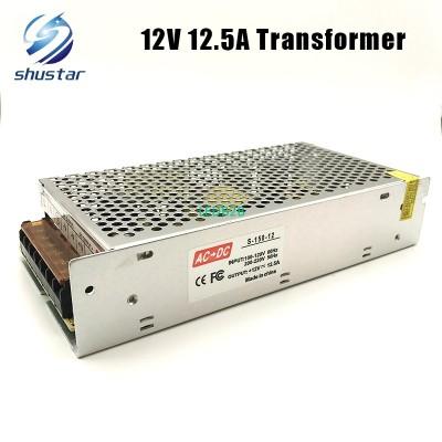 150W 12V 12.5A AC/DC Power Supply