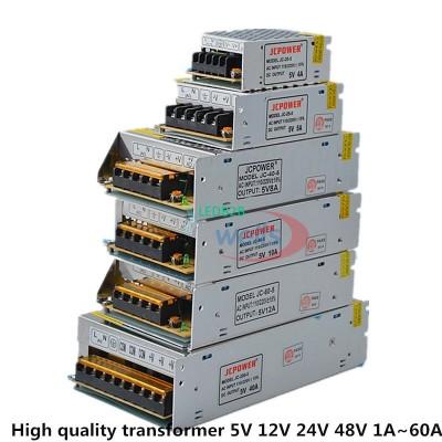 5V 12V 24V 36V 48V LED transforme