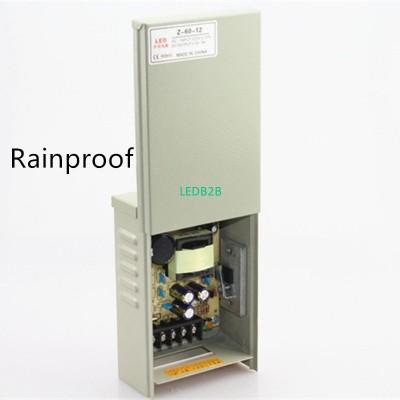 Rainproof AC 110V 220V to DC 12V