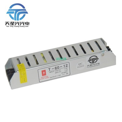 LED Power Supply 5A 60W & 80W