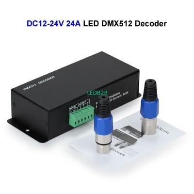 5pcs DC24V 24A LED DMX512 Control