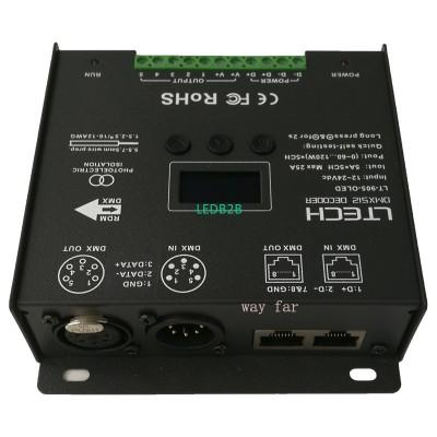 New Led DMX  Decoder Controller;D