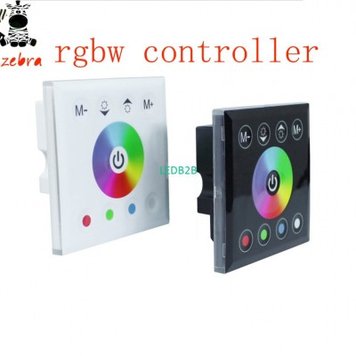 rgbw led controller touch panel,l