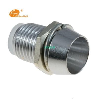 50 pcs 5mm Chrome Metal LED Holde