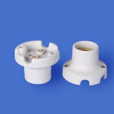 E27 F592 Porcelain lampholder——