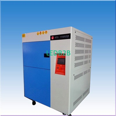 Thermal shock test chamber for LE