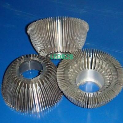 LED sunflower heat sink
