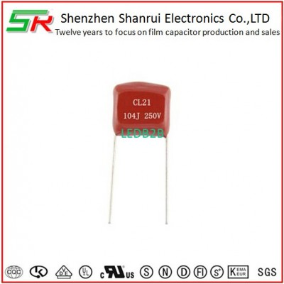 polyester film capacitor CL21