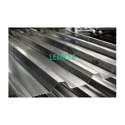 Perforated corrugated sheet for s