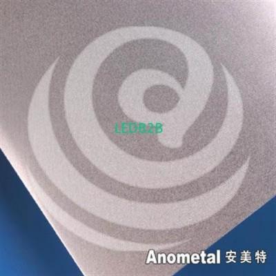 280 Erotex anodized aluminum