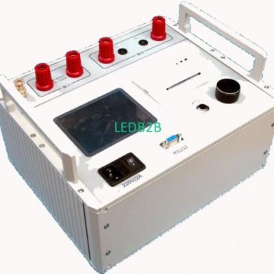 Generator rotor impedance tester