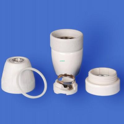 E27 F726 Porcelain lampholder——