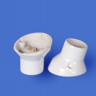 E27 F643 Porcelain lampholder——