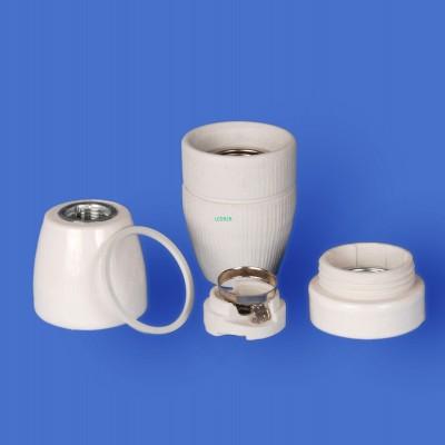 E27 F727 Porcelain lampholder——