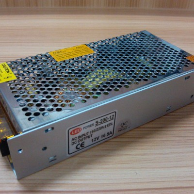 12V16.5A200W switch power supply