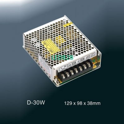Enclosed Switching Power SupplyD-