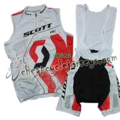 2011 Scott WhiteRed Cycling Vest