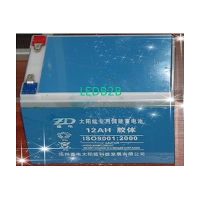 Vrla solar  battery 12V12AH