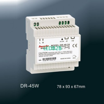 DIN Rail Power SupplyDR-45W