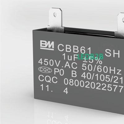 CBB61 AC Capacitor Terminal Serie