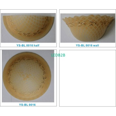 Machine moulding lampshade BL012