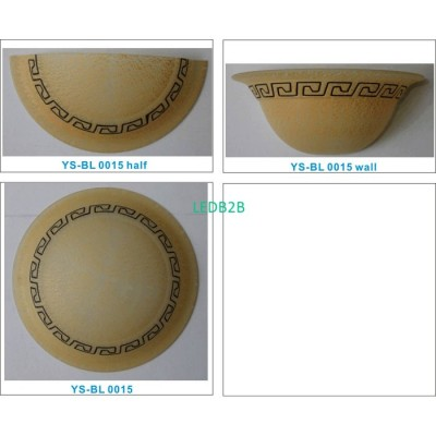 Machine moulding lampshade BL011