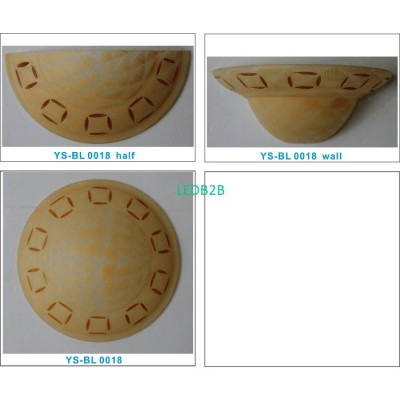 Machine moulding lampshade BL014