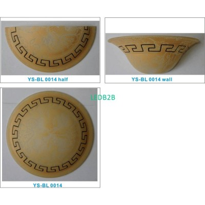 Machine moulding lampshade BL010