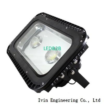 100W 120W led flood light heat si