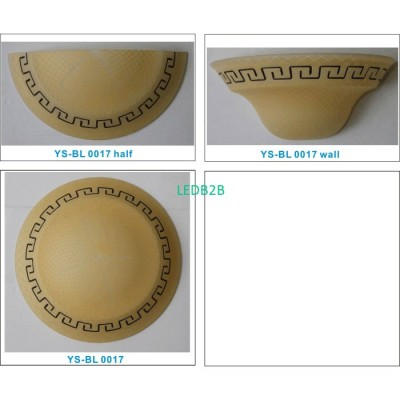 Machine moulding lampshade BL013