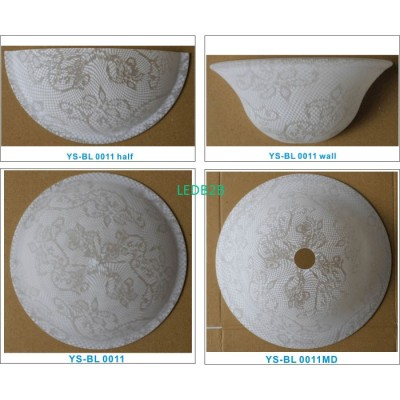 Machine moulding lampshade BL008