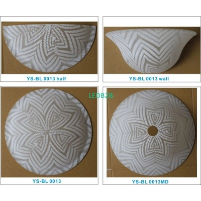 Machine moulding lampshade BL009