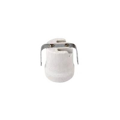 E27 porcelain lamp base with brac