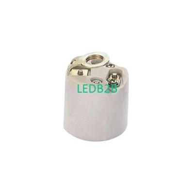 ceramic lamp base with brakcet E2