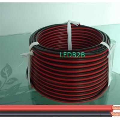 silicone rubber twin flat cable