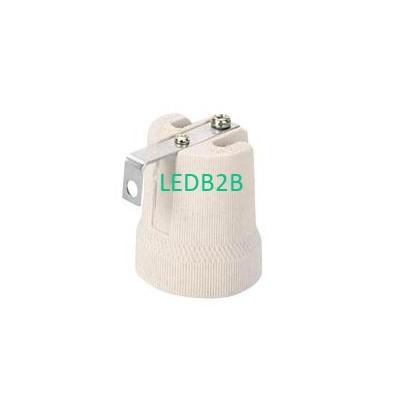 porcelain lamp base with bracket