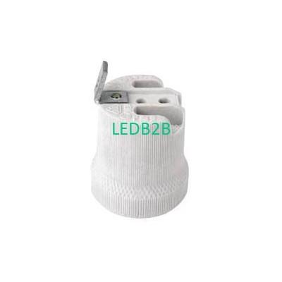E27 porcelain lamp holder  with b