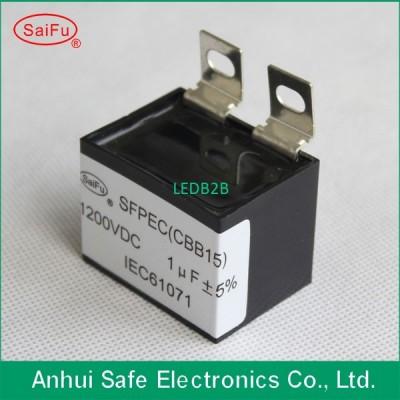 CBB15 1200V 1uF DC filter capacit