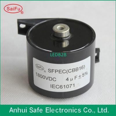 CBB16 1800V 4uF DC filter capacit