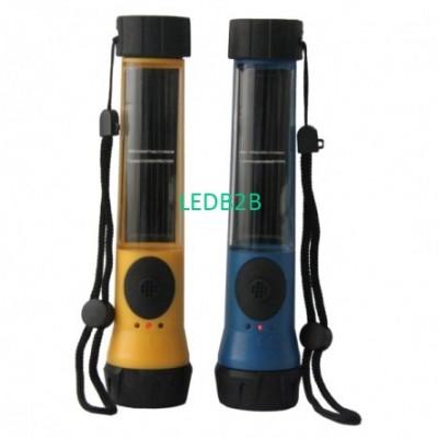Plastic Solar FlashlightTD-815