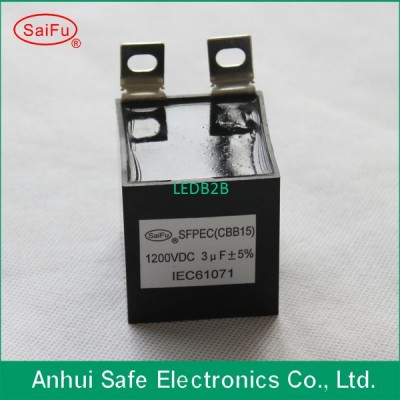 CBB15 1200V 3uF capacitor for wel