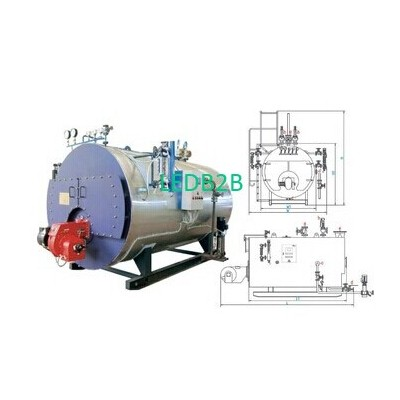 Natural Gas Fired Hot Water Boile