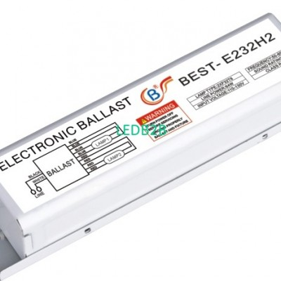 Economic electronic ballast for T