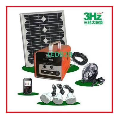 10W Solar Lighting System