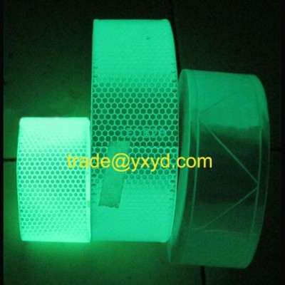glow reflective tape , vest tape